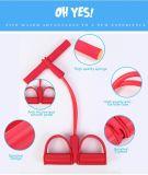 Веревочка Crossfit гимнастики простирания Multi-Положения полосы сопротивления тренировки ноги (померанцовая)