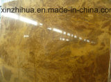 Kitchen/Bathroom/Entry/Floor/Wall/Vanitytop/Worktop/Table를 위한 구리 Yellow Marble Slabs Polished 또는 Honed/Sandblasted