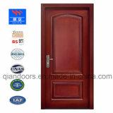 Black Walnut interior da porta de madeira maciça e gravados portas de madeira