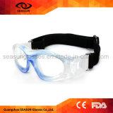 UV400 durables borran anteojos del balompié del voleibol del engranaje de entrenamiento del baloncesto de los niños de la visión