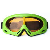 Les lunettes de ski de lentille de PC de lunettes de ski les plus neuves de lunettes unisexes de ski vendent des lunettes en gros de ski