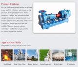 Décharge des déchets industriels de l'eau Pompe centrifuge horizontale