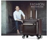 Sac de bagage de chariot à Aluminium-Tige de sac de chariot à ordinateur portatif du cuir Bw1-167 véritable