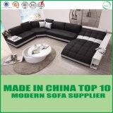 Italienisches Wohnzimmer-Möbel-Ecken-Leder-Sofa
