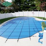 Nice die Dekking van het Zwembad van de Veiligheid van de Grootte de Plastic pp van de Douane Universele in Groen/Blauw kijken
