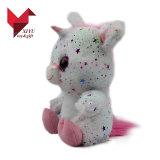 Zachte Stuk speelgoed van de Eenhoorn van de Pluche van het Stuk speelgoed van de Baby van Yangzhou het Vervaardiging Gevulde Roze