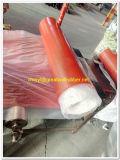 Durometer80A± 5 rodillos de caucho rojo/rojo + lámina de goma alfombrilla alfombrilla de goma