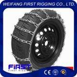 Corrente de pneu da neve do carro do Multi-Anel do anel dobro de aço de liga