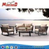 2018 Venta caliente de la Cuerda rota baratos muebles para exteriores Muebles de tejido de la cuerda