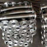 Manguito trenzado ensanchado del metal flexible del alambre