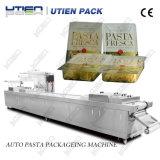Massas alimentícias comercial Mapa máquina de embalagem, massas frescas processo automático de linha de embalagem