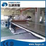 PVC que adorna la línea de la protuberancia de la hoja de la tarjeta que hace la máquina