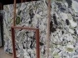 Ice слоя из зеленого мрамора для кухни и ванной комнатой/стены и пол