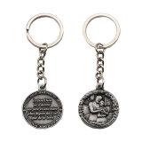 Metallmünzen-Halter Keychain