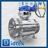 Didtek A105 forjó la vávula de bola del muñón del lacre del metal