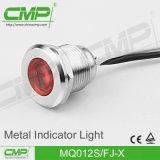 구멍 12mm 질 전자 수준 LED 표시등