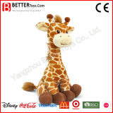 Brinquedo macio bonito do animal enchido do luxuoso do Giraffe En71 para o bebê