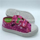 Ботинки впрыски вскользь ботинок холстины детей высокого качества подгоняли (FHH1206-9)