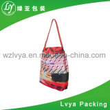 Colorful High Quality Big Capacity Customized Promotional Canvas Tote Bag and Cotton Shopping Bag