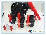 Plastikventil - manuelles Drosselventil mit Griff-Hebel