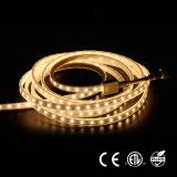 Las ventas al por mayor impermeabilizan la luz de tira flexible del LED