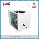 우유 냉각 열 펌프를 위한 공기에 의하여 냉각되는 일폭 냉각장치