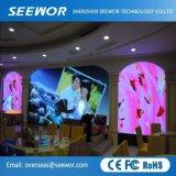 P6.25mm hohe Auflösung örtlich festgelegte farbenreiche LED-Innenbildschirmanzeige