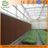 Sistema de pastilhas de parede de refrigeração para a pecuária e gases com efeito de