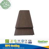 Revêtement composé en plastique en bois extérieur respectueux de l'environnement de mur de coextrusion (GB13-142)