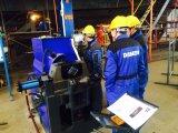 Macchina di smussatura ad alta velocità fissa dell'estremità del tubo H24 in workshop