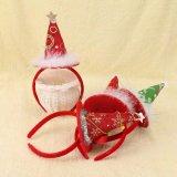 머리 부속품이 도매 싼 아이들 보석 크리스마스 모자에 의하여 농담을 한다