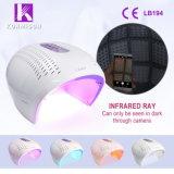 4 van de LEIDENE van kleuren LEIDENE van de Verjonging Huid van het Foton Lichte Therapie met Vouwbaar Ontwerp
