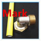 Guarniciones de cobre de cobre amarillo de la prensa de la cuerda de rosca que sondean