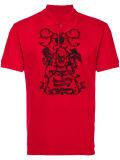 Het Overhemd van het Polo van de Mensen van de douane met borduurt