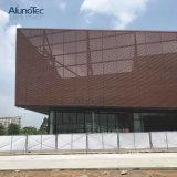 Panneaux en aluminium externes de façade de mur en métal de revêtement