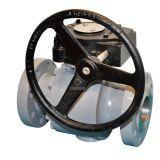 APIの鋳造鋼鉄トラニオンの球弁