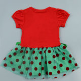 Износ малыша обмундирования рождества вала платья ребёнков