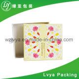 Het Verpakkende Vakje van Macaron van de Chocolade van de douane met Inlegsel Twee het Vakje van het Document van de Klep