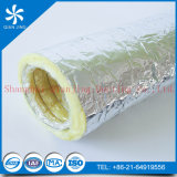 Tubo de aire flexible del aislante del animal doméstico para el uso de la ventilación