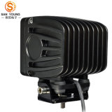 High Power Square 60W LED Work Light, High Lumen 5100lm Lampe LED pour Truck & Buldozer