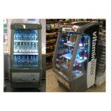 Refrigerador do indicador de ar aberto do anúncio publicitário