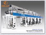 Ptp automática de alta velocidad, máquina de impresión para papel de aluminio (DLPTP Pharmaceuitical-600A)