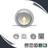 細い3W LEDの壁ライト、12ボルトLEDのステップライト