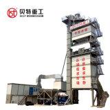 máquina de mistura de lotes de plantas de asfalto na construção rodoviária