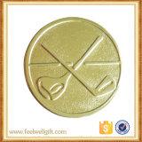 Aduana de aluminio de la divisa de la medalla del torneo del golf