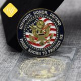良質の卸売の工場価格の金属のさざ波3Dの硬貨