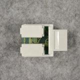 De Red UTP Cat5e Tool-Free módulo conector RJ45 hembra Información Pc Adaptador de cable de salida de la piedra angular del gato para AMP.