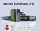 Cortador do laser da fibra Esf-Ge para o metal da chapa de aço de carbono de 1-22mm