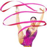 رقص وشاح عصا [جم] فنّ إيقاعيّة رياضيّ باليه علم خفّاق لون قرنفل