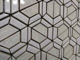 六角形の形の磁器のBacksplashのタイルの台所モザイク